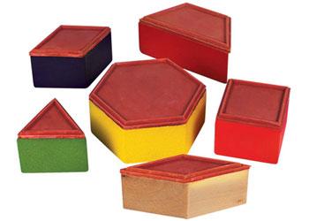 Stamp Pattern Blocks – 6 piece