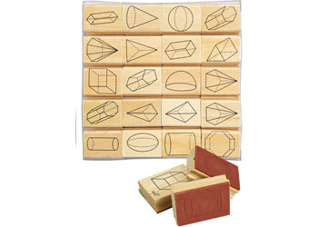 Stamp 3D Geometry Shapes