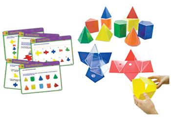 Geometric Folding Shapes & Activity Cards