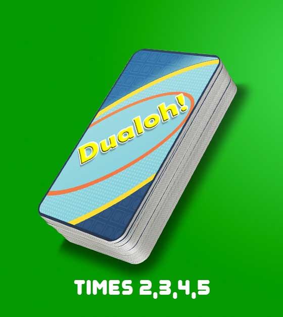 Dualoh! Times 2,3,4,5 Card Pack