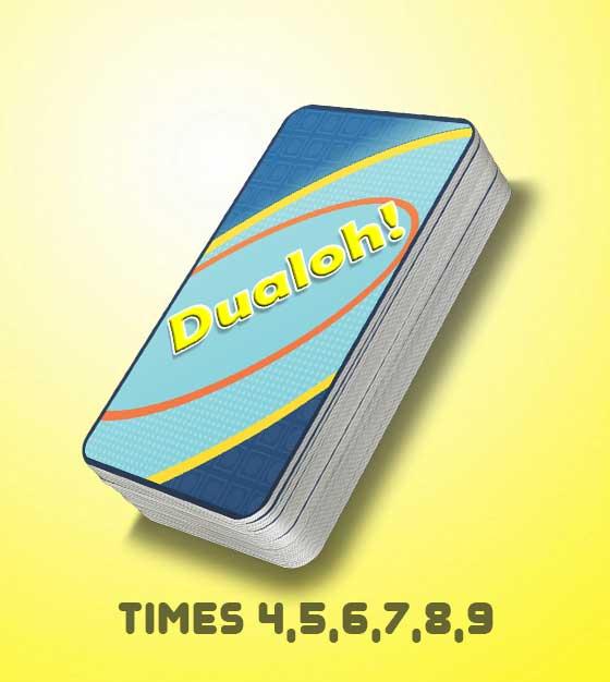 Dualoh! Times 4,5,6,7,8,9 Card Pack